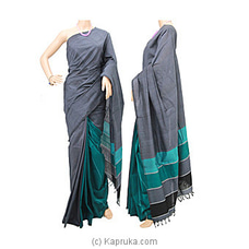 Standard Cotton Saree-C1412 at Kapruka Online