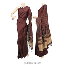 Rayon Mixed Cotton Saree-S1304 By Cotton Weavers at Kapruka Online for specialGifts