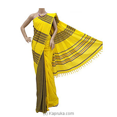 Standard Cotton Saree   C1245 By Cotton Weavers at Kapruka Online for specialGifts