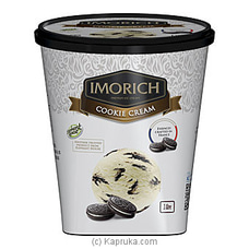 IMORICH Cookie Cream Ice Cream 1L By Elephant House at Kapruka Online for specialGifts