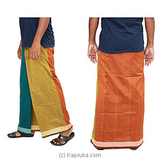 Pure Cotton Handloom Sarong-cs1101 at Kapruka Online