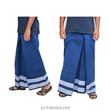 Pure Cotton Handloom Sarong-CS1115 By Cotton Weavers at Kapruka Online for specialGifts