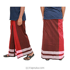 Pure Cotton Handloom Sarong-CS1116 By Cotton Weavers at Kapruka Online for specialGifts