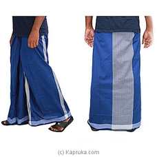 Pure Cotton Handloom Sarong-CS1118 By Cotton Weavers at Kapruka Online for specialGifts