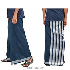 Pure Cotton Handloom Sarong-CS1120 By Cotton Weavers at Kapruka Online for specialGifts