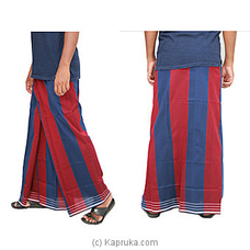 Pure Cotton Handloom Sarong-CS1121 By Cotton Weavers at Kapruka Online for specialGifts