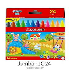 Colleen 24 Colour Jumbo Crayons at Kapruka Online