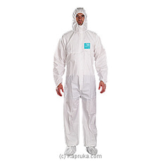 Alphatec Micro Gurd Coverall Suit PPE Large at Kapruka Online