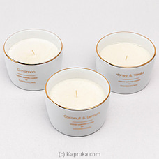 Dankotuwa Luxury Candle- Cinnamon at Kapruka Online