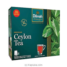 Dilmah Premium Ceylon Tea Bags (2.0g/100Bags) By Dilmah at Kapruka Online for specialGifts