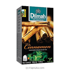 Dilmah Cinnamon Flavoured Black Tea Bags (1.5g/20Bags) By Dilmah at Kapruka Online for specialGifts