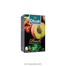 Dilmah Peach Flavoured Black Tea Bags (1.5g/20Bags) By Dilmah at Kapruka Online for specialGifts