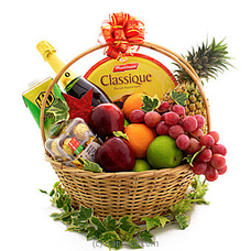 Wonder Of the Season Fruit And Goodies Hamper By Kapruka Hamper at Kapruka Online for specialGifts