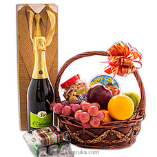 Sparkling Brilliance Fruit Hamper By Kapruka Hamper at Kapruka Online for specialGifts