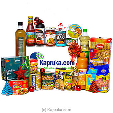 Lucious Moment Grocery Hamper at Kapruka Online