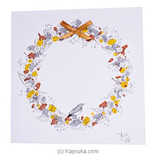 Hand Painted Greeting Card at Kapruka Online