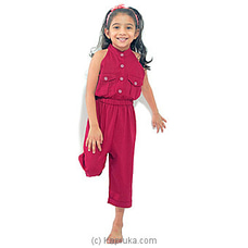 Jump suit LJS008 - Maroon By Lishe at Kapruka Online for specialGifts