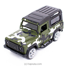 Die Cast Model Army Jeep Toy By Brightmind at Kapruka Online for specialGifts