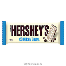 Hershey`s Cookies n Creme 39g By Hershey|Globalfoods at Kapruka Online for specialGifts