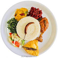 Selvi`s Rice And Curry With Chicken Curry By Gruhanees at Kapruka Online for specialGifts