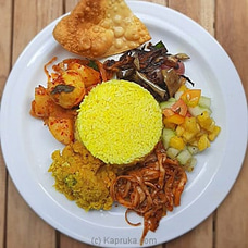Selvi`s Yellow Rice With Devilled Mushrooms By Gruhanees at Kapruka Online for specialGifts