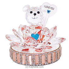 Crystal Bear Ornament By Habitat Accent at Kapruka Online for specialGifts