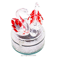Swan Crystal Ornament By Habitat Accent at Kapruka Online for specialGifts