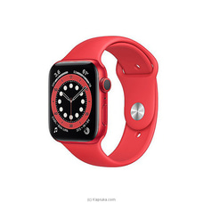 Apple Watch Series 6 44MM Aluminum GPS - Red Sport Band at Kapruka Online