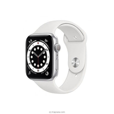 Apple Watch Series 6 44MM Aluminum GPS - White Sport Band at Kapruka Online