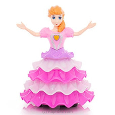 Rotary Flower Girl Dancing Doll By Brightmind at Kapruka Online for specialGifts