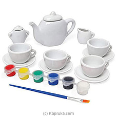 DIY Painted Tea Set By Brightmind at Kapruka Online for specialGifts