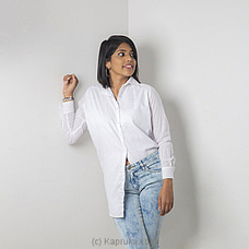 White button down -34 By Zie at Kapruka Online for specialGifts