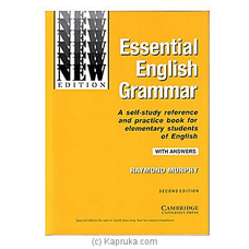 Essential English Grammar- Second Edition at Kapruka Online