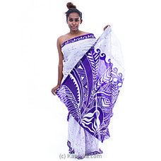 Light Purple white mixed batik By Islandlux at Kapruka Online for specialGifts