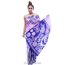 Light purple and dark purple mixed batik By Islandlux at Kapruka Online for specialGifts