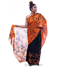 Orange Black Mixed Batik at Kapruka Online