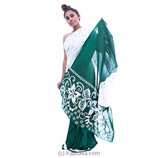 Green white mixed batik By Islandlux at Kapruka Online for specialGifts