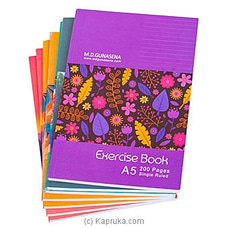 Dozen Single Ruled Exercise Book (200pg X 12) at Kapruka Online