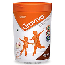 Groviva Child Nutrition Supplement Jar 400g- Chocolate By Groviva at Kapruka Online for specialGifts