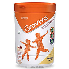 Groviva Child Nutrition Supplement Jar 400g- Vanilla By Groviva at Kapruka Online for specialGifts