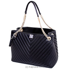 Victoria`s Secret Shoulder Tote Black Lily Handbag         By Victoria Secret at Kapruka Online for specialGifts