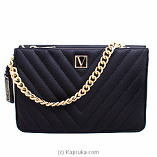 Victoria Secret Cross Body Shoulder Bag Black              By Victoria Secret at Kapruka Online for specialGifts