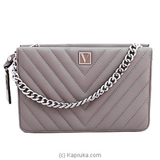 Victoria Secret Cross Body Shoulder Bag Grey at Kapruka Online