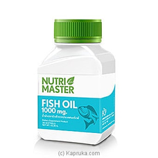 Nutri Master Fish Oil 1000mg-100s By Nutri Master at Kapruka Online for specialGifts