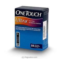 One Touch Ultra Glucose Testing Strips 50s By One Touch at Kapruka Online for specialGifts