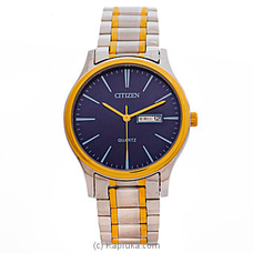Citizen Gent`s Silver and  Gold Watch By Citizen at Kapruka Online for specialGifts