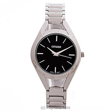 Citizen Ladies Silver Watch By Citizen at Kapruka Online for specialGifts