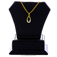 Vogue 22K Gold Pendant Set With 7(c/z) Rounds By Vogue at Kapruka Online for specialGifts