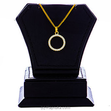Vogue 22K Gold Pendant Set With 26(c/z) Rounds By Vogue at Kapruka Online for specialGifts