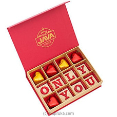 Java Only You 12 Piece Chocolate Box at Kapruka Online